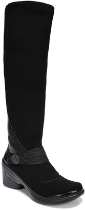 Bzees High-Shaft Stretch Fabric Boots - Euphoria
