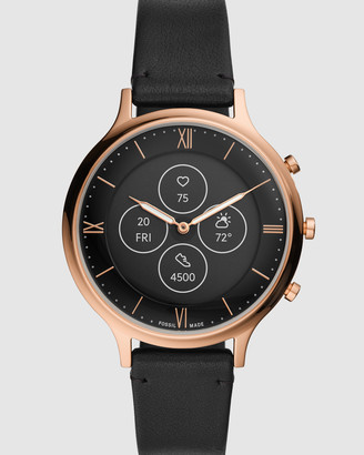 Fossil Charter Hybrid HR Black Smartwatch