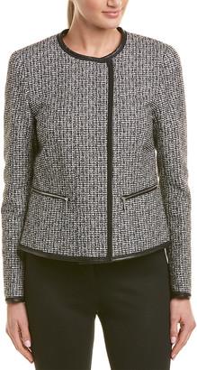 Lafayette 148 New York Asymmetrical Jacket