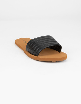 Volcom Puff Puff Give Womens Black Sandals