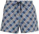 Fendi logo print swim shorts