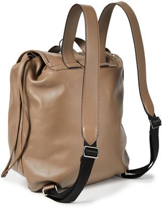 Brunello Cucinelli Bead-embellished Leather Backpack