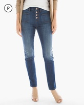 Chico's Button-Front Ankle Jeans