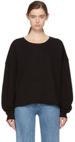 Simon Miller Black Brushed Sweatshirt