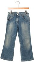 Armani Junior Girls' Flared Five Pocket Jeans w/ Tags