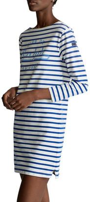 Polo Ralph Lauren Striped Boatneck Dress