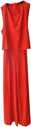 Zara Red Polyester Dresses