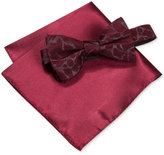 Alfani Men's Walsh Abstract Bow Tie & Pocket Square Set, Only at Macy's