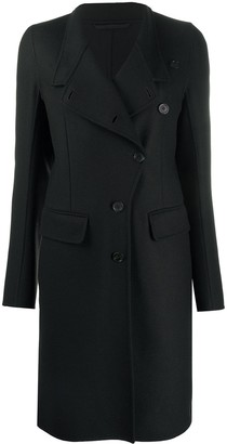 Ann Demeulemeester Off-Centre Button Coat