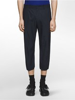 Calvin Klein Platinum Cropped Poplin Pants
