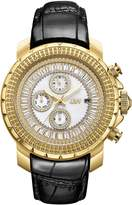 JBW Men's J6347L-B Titus 0.12 ctw 18k gold-plated stainless-steel Diamond Watch