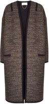 Vanessa Bruno Brown Tweed Felicien Coat