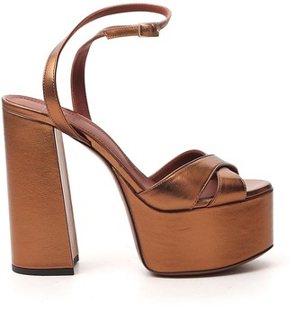 L'Autre Chose Ankle Strap Platform Sandals