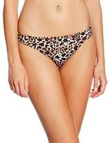 Marie Meili Women's Santiago Briefs Animal Print Bikini Bottoms,Size 10 (Manufacturer Size:)