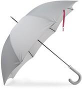 Heating & Plumbing London British City Slim Umbrella Grey & Burgundy