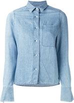 J Brand denim shirt - women - Cotton/Linen/Flax - S