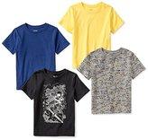 Spotted Zebra Toddler Boys' 4-Pack Short Sleeve T-Shirt