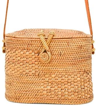 Chloé Poppy + Sage Rattan Bag