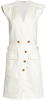 Derek Lam 10 Crosby Elena Sleeveless Utility Dress