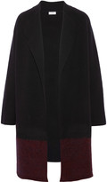 Vince Needle Punch two-tone wool-blend coat