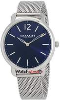 Coach Delancey Slim Dial Men's Stainless Steel Mesh Watch 14602349