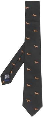 Paul Smith dog pattern tie