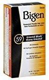 Bigen Permanent Powder Hair Color 59 Oriental Black