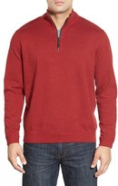 Tommy Bahama Men's Big & Tall 'New Flip Side Pro' Reversible Quarter Zip Sweater