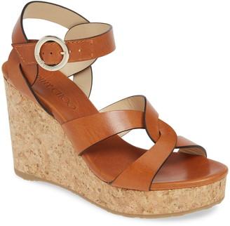 Jimmy Choo Aleili Platform Wedge Sandal