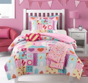 Chic Home Candy 4 Piece Twin Comforter Set Bedding