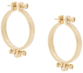 Annelise Michelson small Alpha earrings
