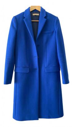 Michael Kors Blue Wool Coats