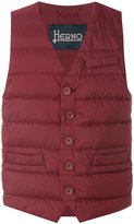 Herno classic padded gilet - men - Polyamide/Polyurethane/Feather/Goose Down - 48