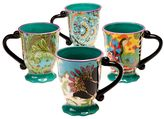 Tracy Porter Rose Boheme 4-pc. Coffee Mug Set