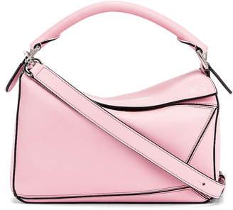Loewe Puzzle Small Bag in Pastel Pink | FWRD