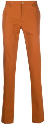 Etro Mid-Rise Slim-Fit Chinos