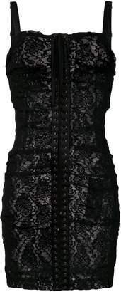 Dolce & Gabbana front lace-up dress