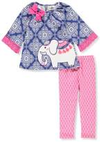Rare Editions Little Girls' Toddler 2-Piece Outfit