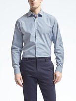 Banana Republic Camden-Fit Supima® Cotton Gingham Shirt