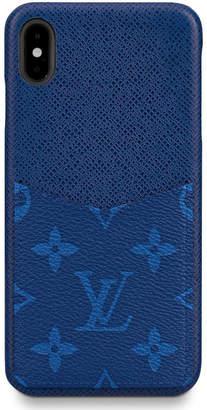 Louis Vuitton iPhone Case Monogram Pacific Taiga XS MAX Blue