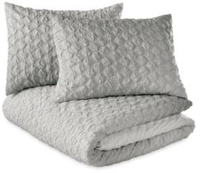 Microsculpt Ombre Honeycomb Twin Duvet Set Bedding