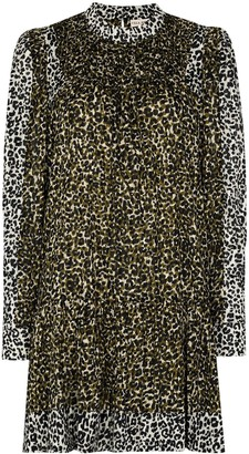 Ulla Johnson Amira leopard-print dress