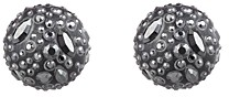 Alexis Bittar Noir Dust Sphere Clip-On Earrings