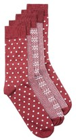 Topman Men's Mixed Pattern 5-Pack Socks