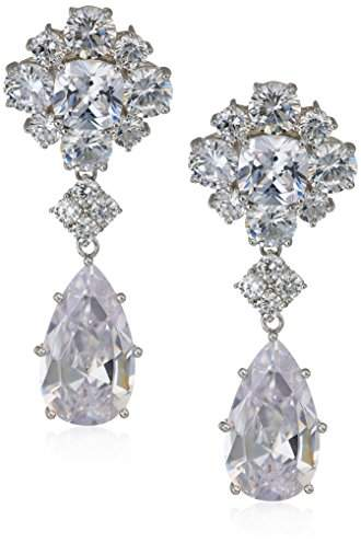 Nina Womens E-Araina Drop Earrings