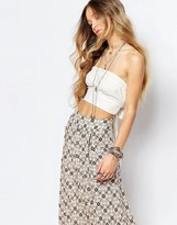 Free People Riverside Tube Top in White