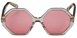 Chloé 58MM Octagon Sunglasses