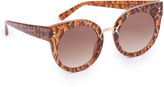 Stella McCartney Round Cat Eye Sunglasses