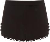 A.L.C. Lucas crepe shorts