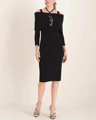 Travelers Classic Three-Way Fit-and-Flare Dress